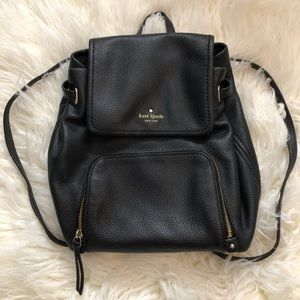 Kate Spade cobble hill charley black backpack